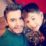 Mustafa Ceceli ve oğlu